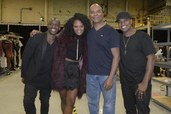 Elijah Kelley, Shanice Williams, David Alan Grier, Ne-Yo