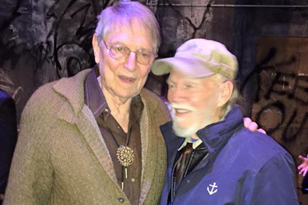 John Cullum and James Jennings Photo