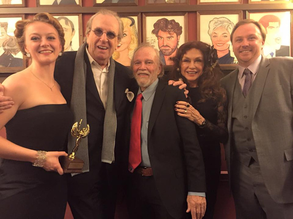 Jessica Jennings Puentevella, Danny Aiello, James Jennings, and Jane Culley Photo