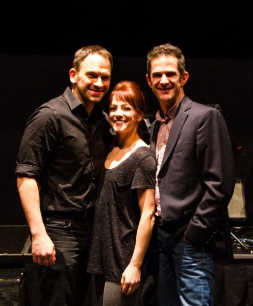 Mark Stewart, James Verazina and Andy Blankenbuehler Photo