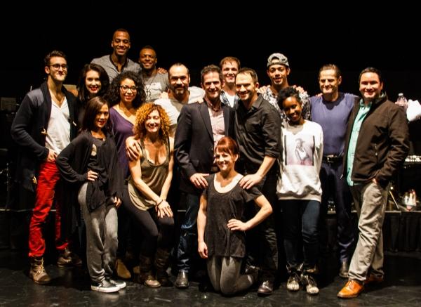 Photos: Andy Blankenbuehler Joins STANDARD TIME Cast for Post-Show Talk Back