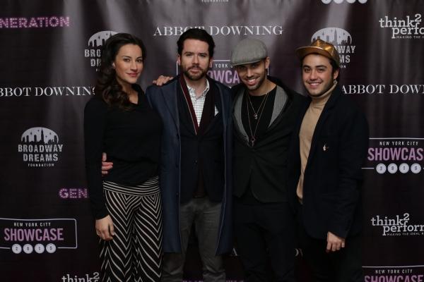 America Olivo, Christian Campbell, Maxx Reed and Jose Alvarez