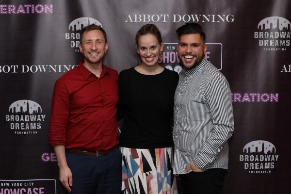Craig Burns, Rachel Hoffman and Caesar Rocha Photo