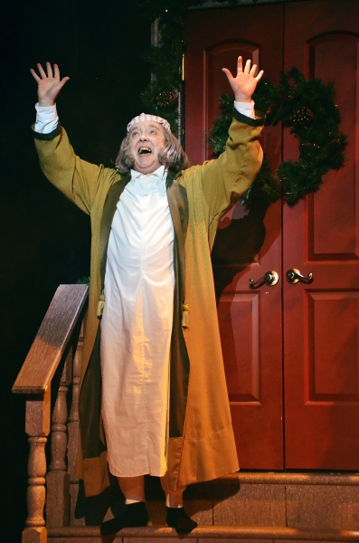 Ebenezer Scrooge (Eddie Curry) is elated to discover he hasn''t missed Christmas after being visited by three spirits who have changed his entire outlook on life