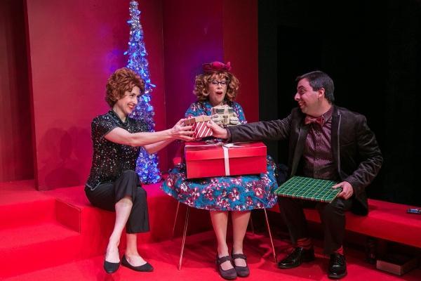 Jenny Schuck, Jody Bayer and Matt Austin as Nicky Holroyd