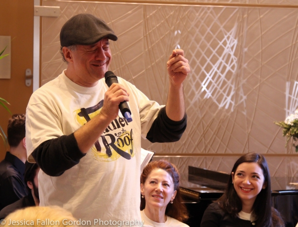 Photo Coverage: FIDDLER ON THE ROOF Celebrates First Night of Chanukah at Dorot