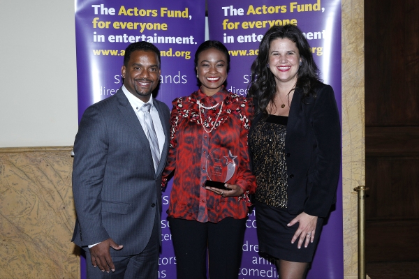 LOS ANGELES - DEC 3: Alfonso Ribeiro, Tatyana Ali, Kathleen Cahill at the The Actors Fund�¿�s Looking Ahead Awards at the Taglyan Complex on December 3, 2014 in Los Angeles, California