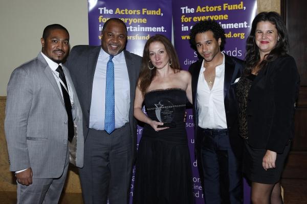 LOS ANGELES - DEC 3: David Reivers, Martha Callari, Corbin Bleu, Kathleen Cahill at the The Actors Fund�¿�s Looking Ahead Awards at the Taglyan Complex on December 3, 2014 in Los Angeles, California