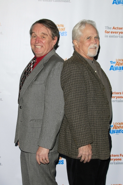 LOS ANGELES - DEC 3: Jerry Mathers, Tony Dow at the The Actors Fund�¿�s Looking Ahead Awards at the Taglyan Complex on December 3, 2014 in Los Angeles, California