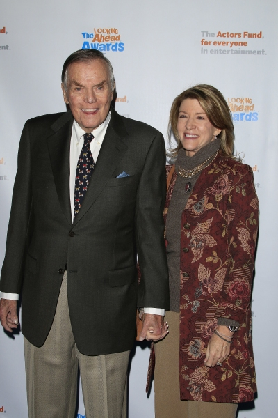 LOS ANGELES - DEC 3: Peter Marshall, Laurie Marshall at the The Actors Fund�s Looking Ahead Awards at the Taglyan Complex on December 3, 2014 in Los Angeles, California