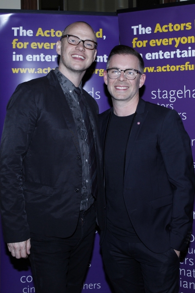 LOS ANGELES - DEC 3: Peter Paige, Bradley Bredeweg at the The Actors Fund�s Looking Ahead Awards at the Taglyan Complex on December 3, 2014 in Los Angeles, California