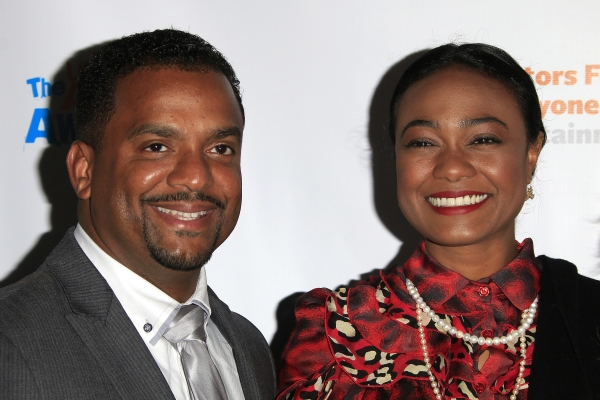 LOS ANGELES - DEC 3: Tatyana Ali, Alfonso Ribeiro at the The Actors Fund�¿�s Looking Ahead Awards at the Taglyan Complex on December 3, 2014 in Los Angeles, California