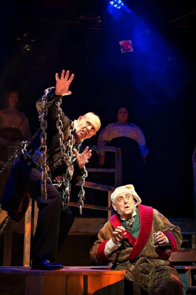"Emmy Award-winner Joe Spano (""NCIS,� RTC's Bucky and Sylvia) plays Jacob Marley with fellow Broadway veteran Peter Van Norden (RTC's Copenhagen) as Ebenezer Scrooge"