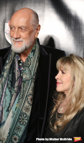 Mick Fleetwood and Stevie Nicks