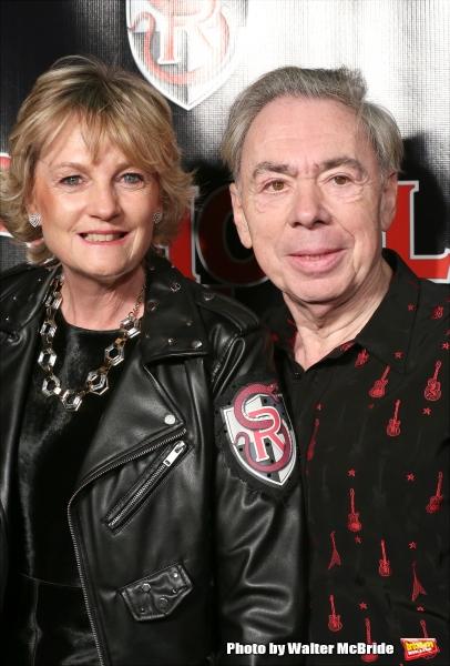 Madeleine Gurdon and Andrew Lloyd Webber