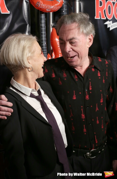 Helen Mirren and Andrew Lloyd Webber