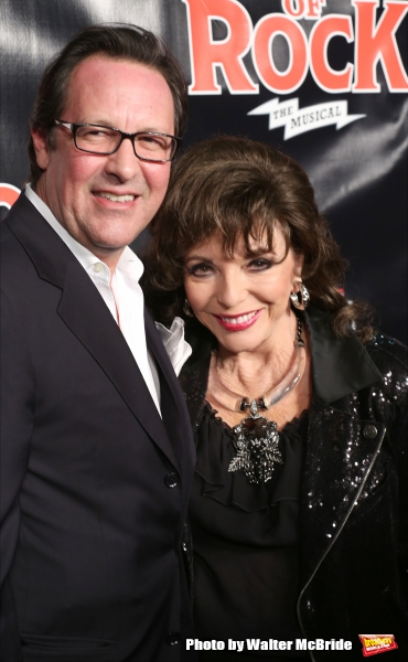 Percy Gibson and Joan Collins Photo