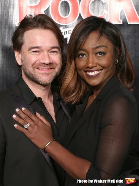 David Mars and Patina Miller  Photo