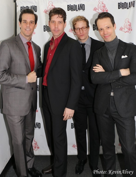 Jeremy Stolle, James Barbour, Jeremy Hays and Laird Mackintosh