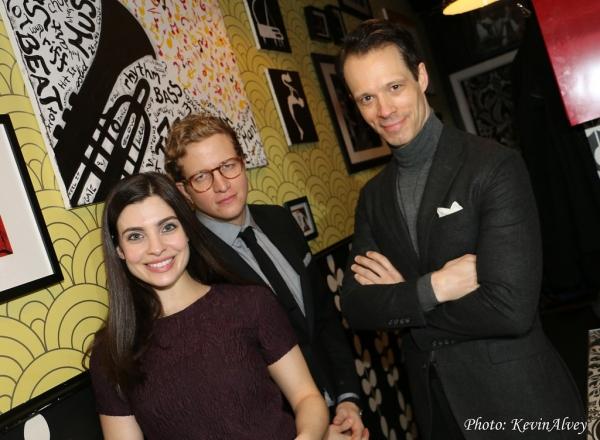 Julia Udine, Jeremy Hays and Laird Mackintosh