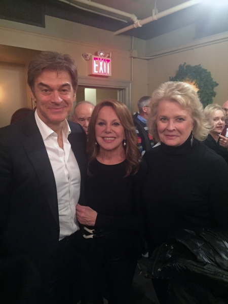 Dr. Oz, Marlo Thomas and Candice Bergen. Photo by Douglas Denoff.