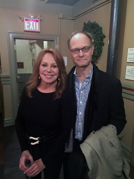 Marlo Thomas and David Hyde Pierce. Photo by Douglas Denoff.