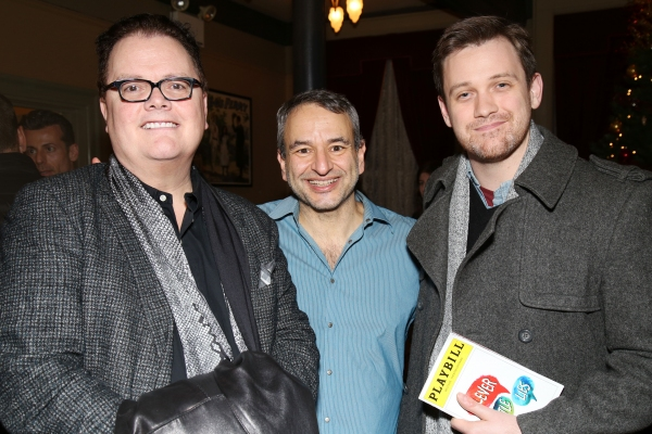 David Saint, Joe DiPietro and Michael Arden. Photo by Joseph Marzullo.