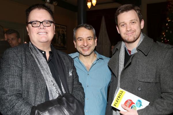David Saint, Joe DiPietro and Michael Arden. Photo by Joseph Marzullo.