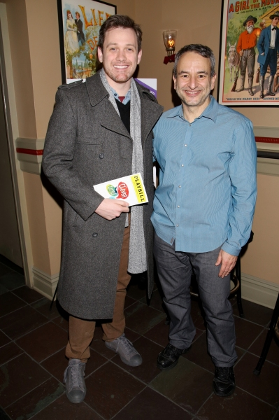 Michael Leo and Joe DiPietro. Photo by Joseph Marzullo.