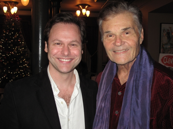 George Merrick and Fred Willard. Photo by Douglas Denoff.