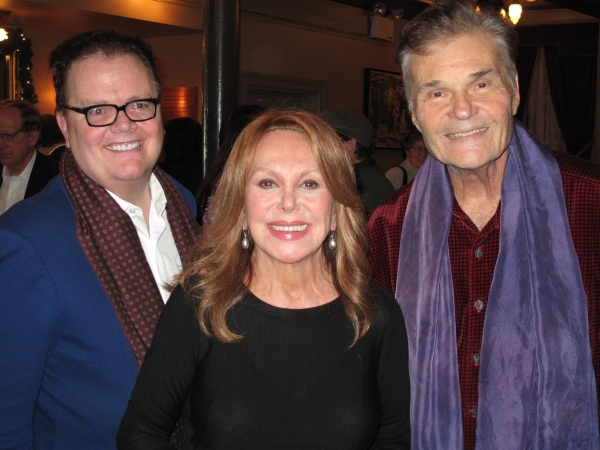 David Saint, Marlo Thomas and Fred Willard. Photo by Douglas Denoff.