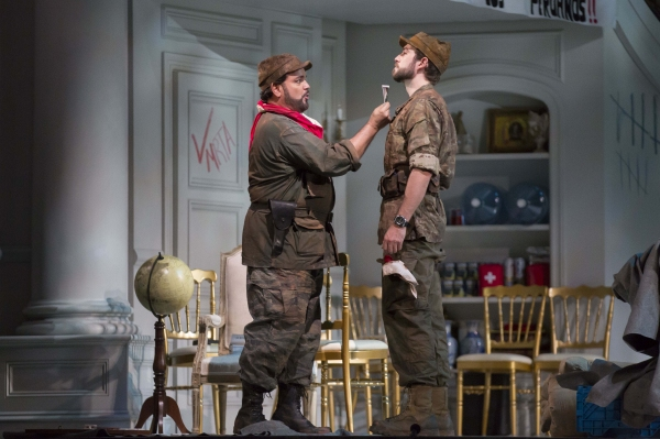 Photo Flash: First Look at BEL CANTO, Opening Tonight at Lyric Opera of Chicago