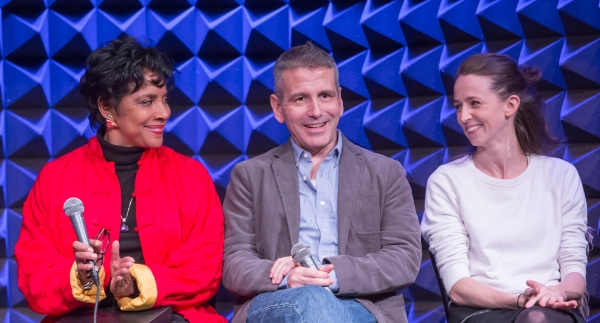 : Phylicia Rashad, David Cromer, and Kristen Sieh