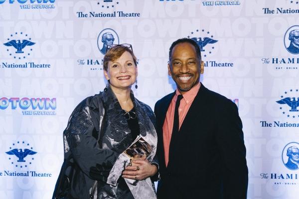 Arena Stage''s Anita Maynard-Losh and Robert Barry Fleming