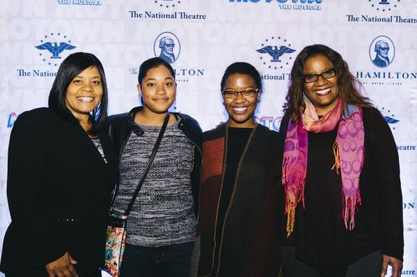 Cheryl Jackson, Tracy Morgan, Kayla Jackson, Katrina Morgan