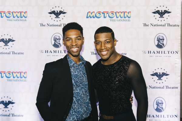 Galen J. Williams and Elijah Ahmad Lewis, from the cast of MOTOWN THE MUSICAL