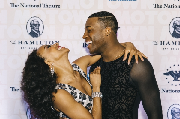 Allison Semmes and Elijah Ahmad Lewis, from the cast of MOTOWN THE MUSICAL