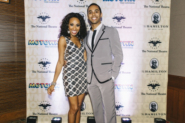 Allison Semmes and Jesse Nager, from the cast of MOTOWN THE MUSICAL