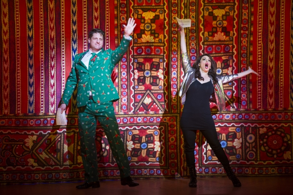 MATILDA THE MUSICAL''s Christopher Sieber and DAMES AT SEA''s Lesli Marherita