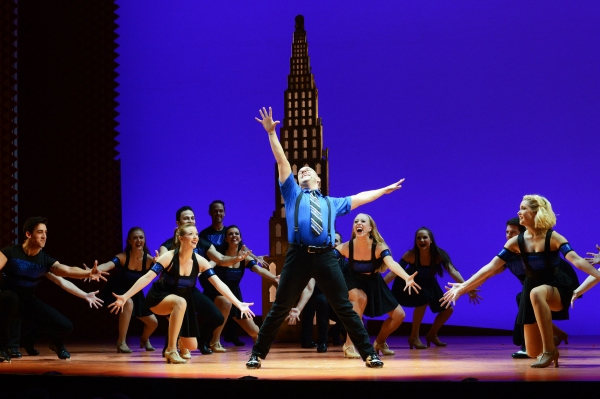 The Opening Number directed and choreographed by Al Blackstone, assisted by Morgan Rose, with music direction and arrangements by Ben Cohn