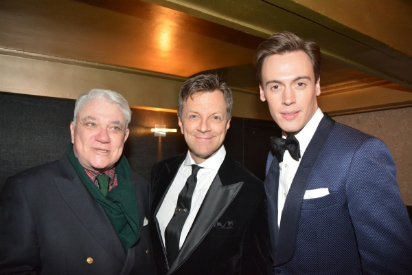 Rex Reed, Jim Caruso and Erich Bergen