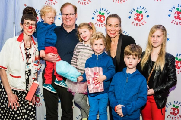 Photo Flash Big Apple Circus Family Benefit With Guest