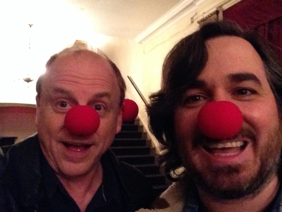 Producer Douglas Denoff with Brian ''Q'' Quinn