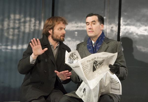 Alec Newman (Kerner) and Tim McMullan (Blair)
