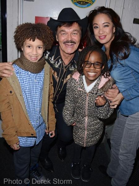 Photo Flash: Village People's Randy Jones Visits SCHOOL OF ROCK on Broadway