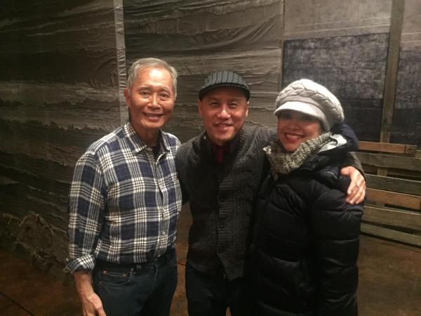 George Takei, BD Wong, Lea Salonga