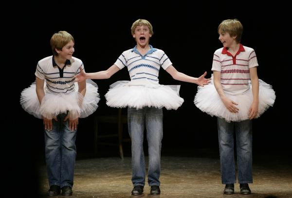 2005 - James Lomas, George Maguire, Liam Mower; Photo by David Scheinmann