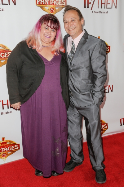 Photo Flash: Tracie Thoms, Barrett Foa and More Walk the Red Carpet for IF/THEN's L.A. Opening