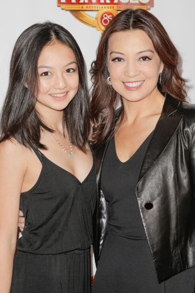 Ming-Na Wen and daughter Michaela Zee