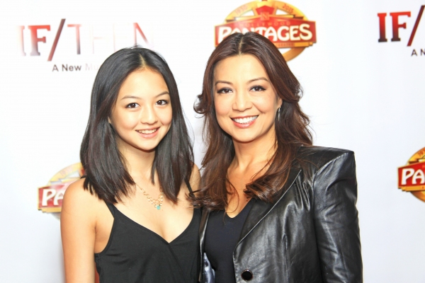 Ming-Na Wen With Daughter  Michaela